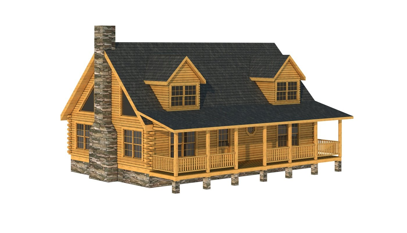 Casey plans information southland log homes for Log cabin house plans free