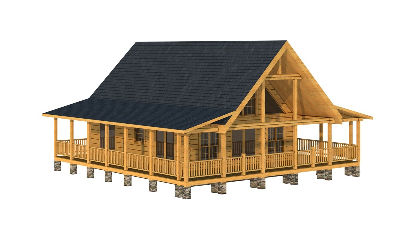 Chester Plans Information Southland Log Homes