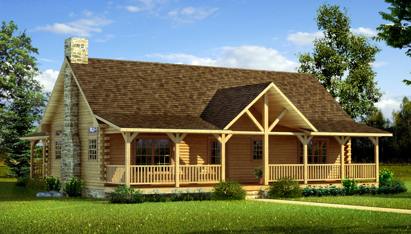 Danbury - Plans & Information | Southland Log Homes