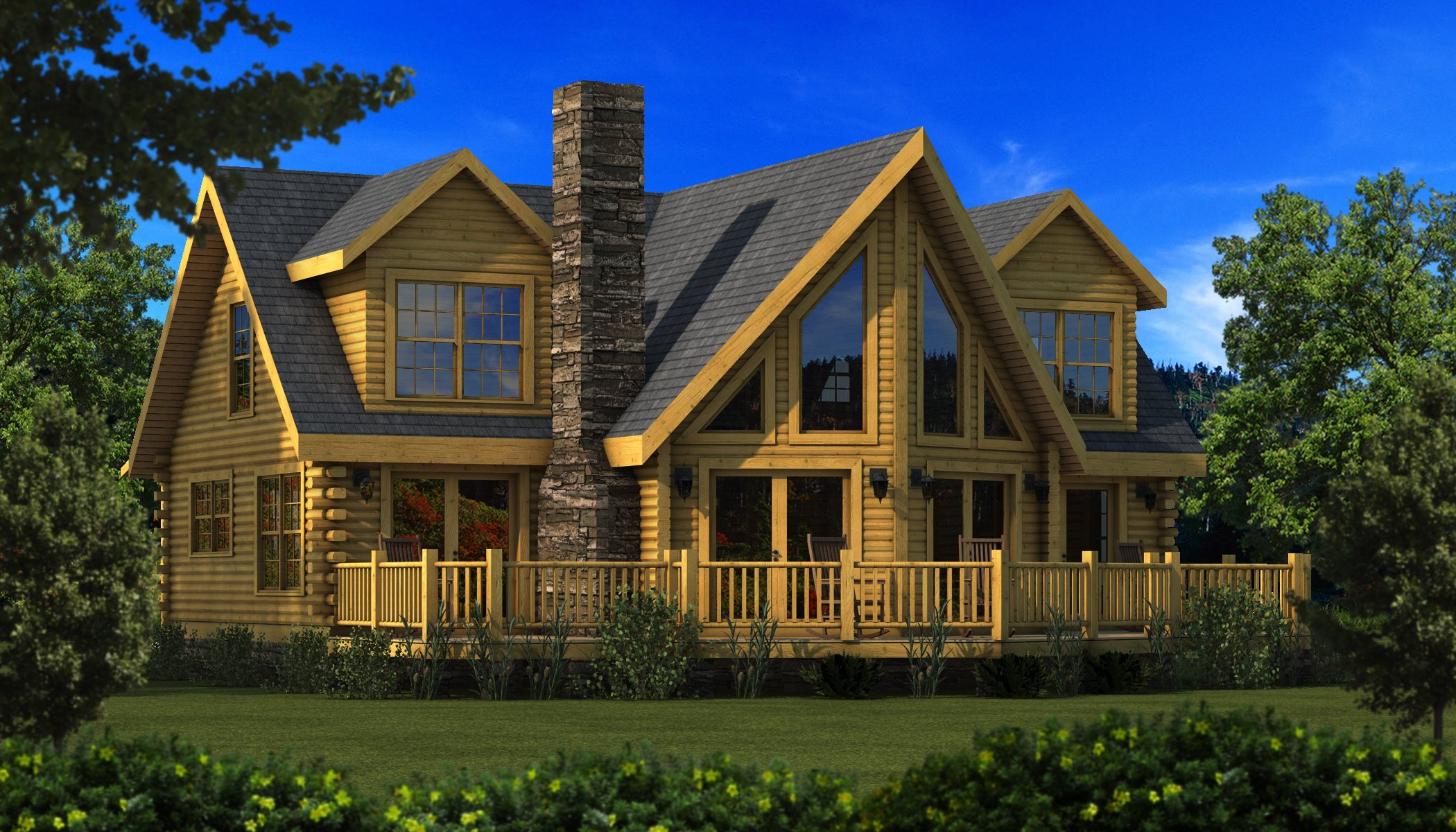 Danville plans information southland log homes Southland log homes