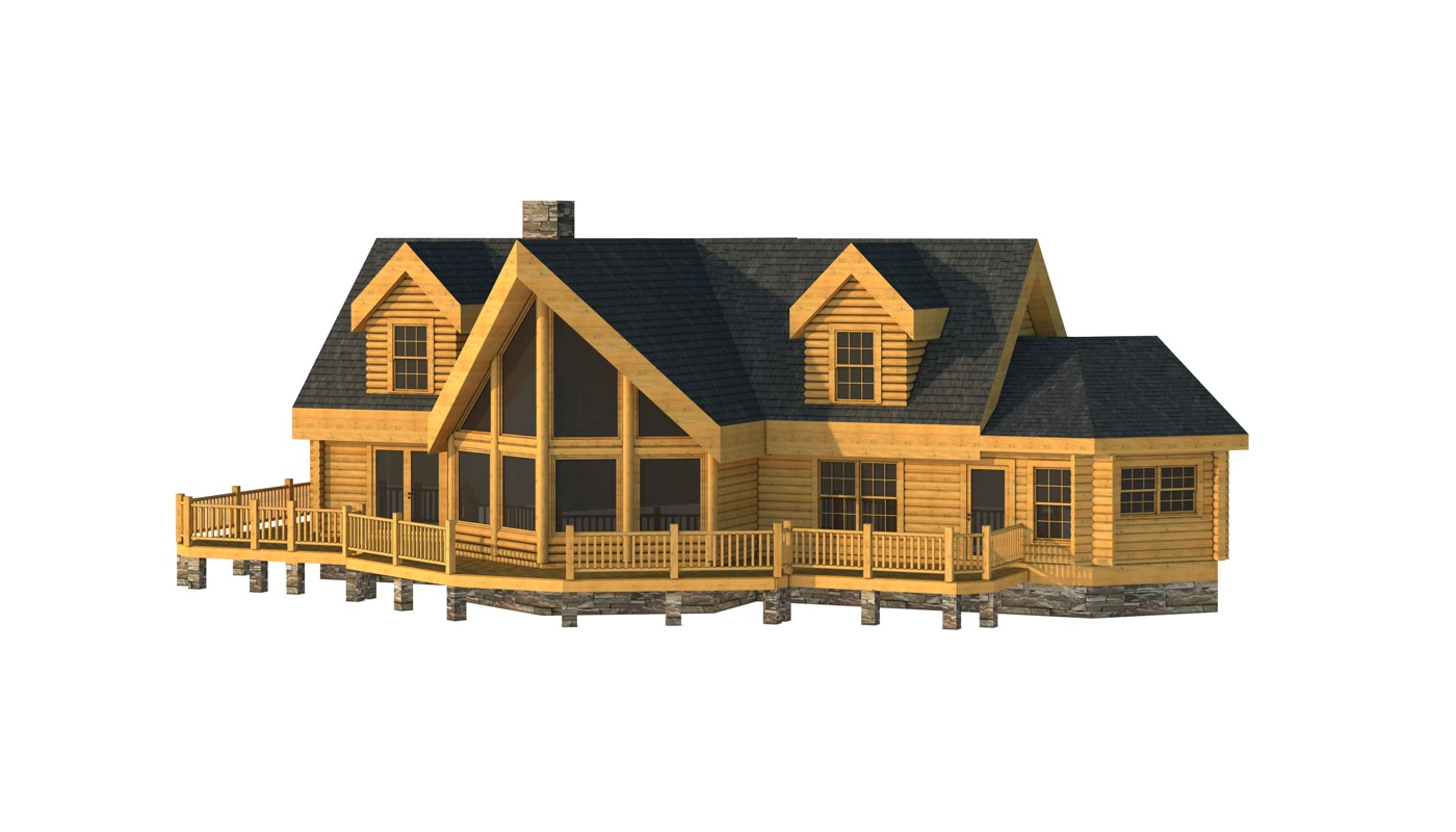 Fairfield plans information southland log homes for Fairfield house