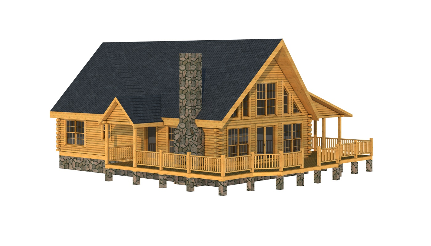 Granville plans information southland log homes for Granville home