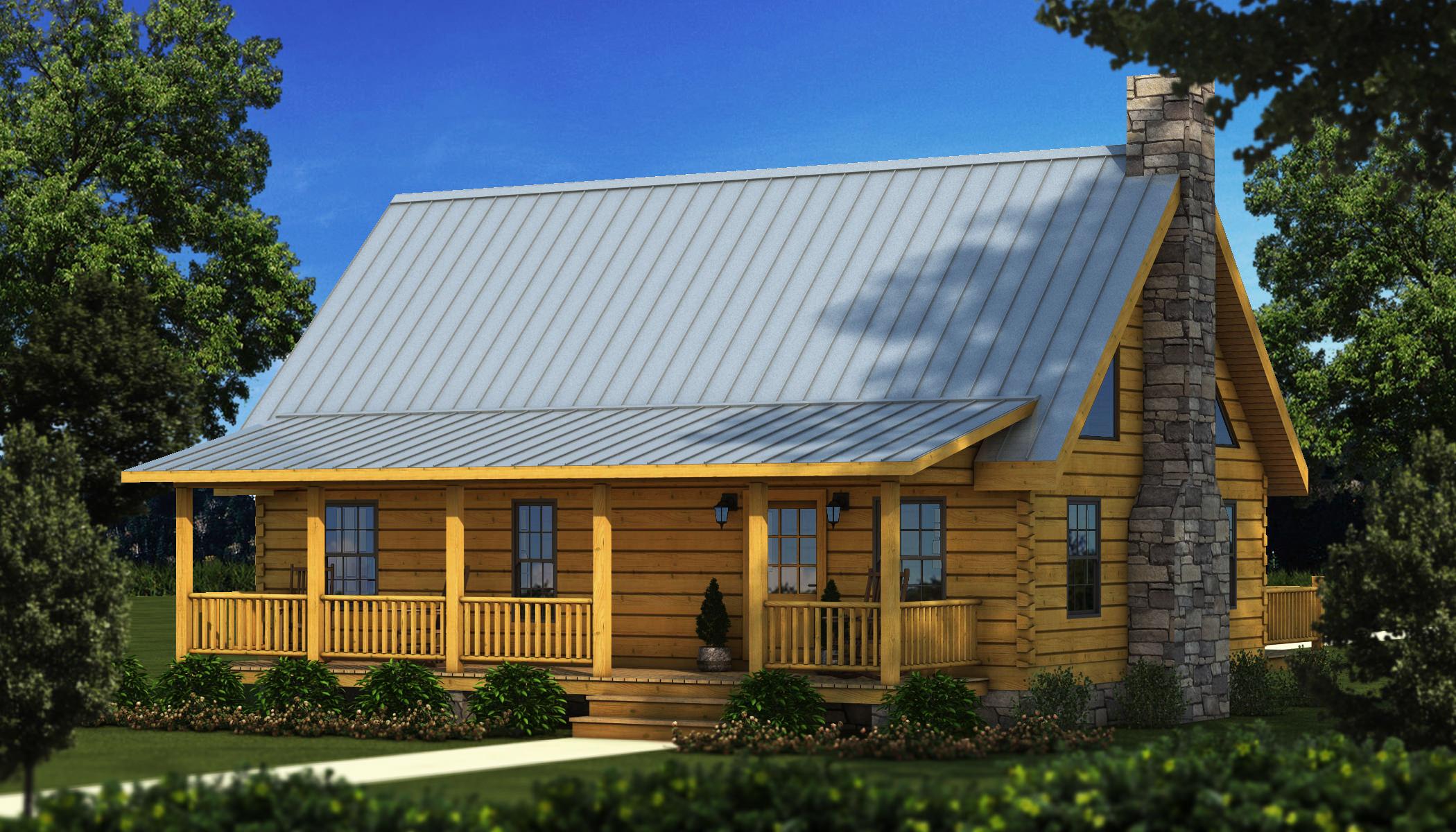 Greenwood i plans information southland log homes for Log cabin kits 2000 sq ft