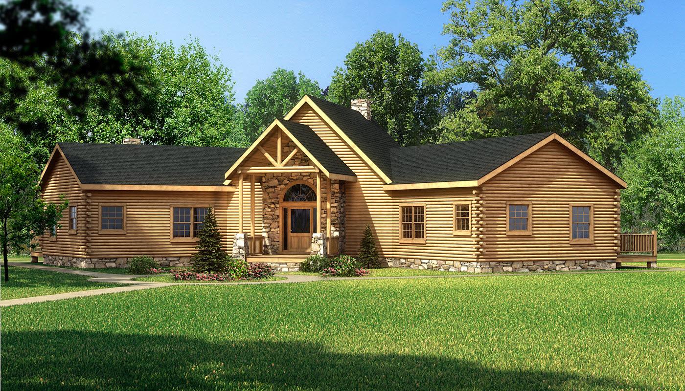 Laredo plans information southland log homes for Laredo home builders