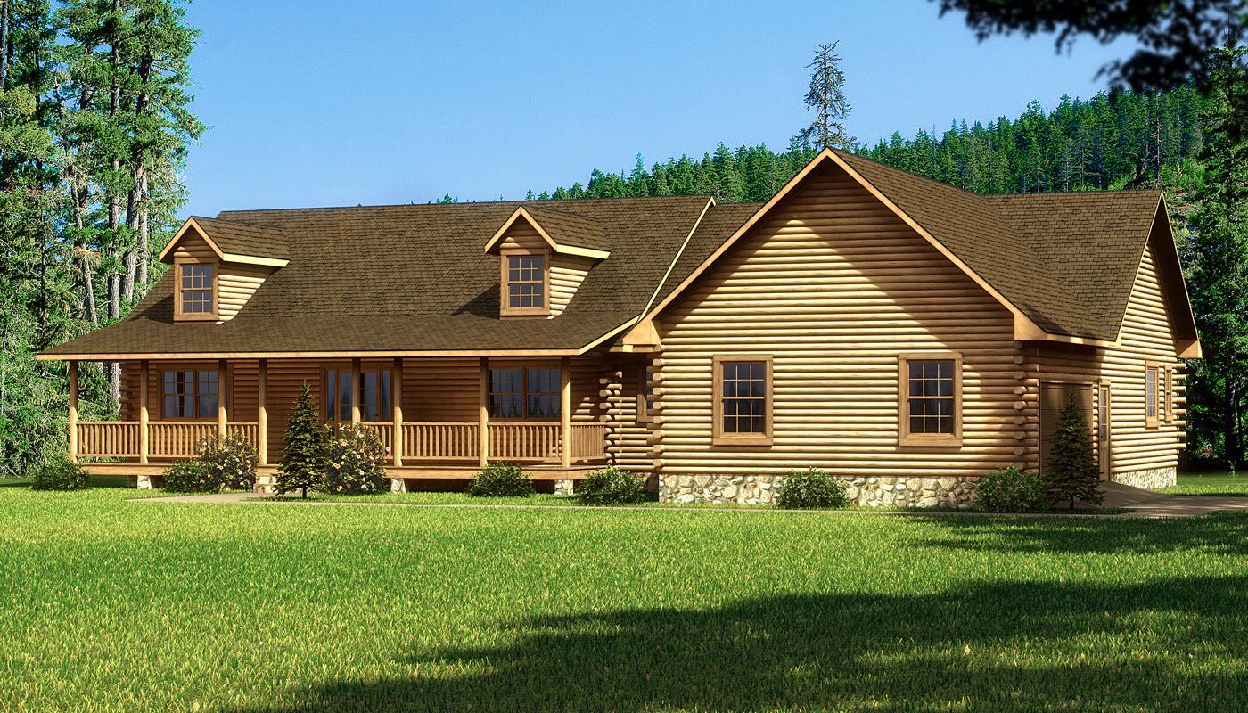 Magnolia plans information southland log homes for Magnolia house plans