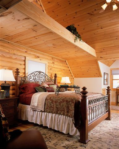 Interior Log Homes Photos (3)