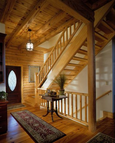 Interior Log Homes Photos (4)