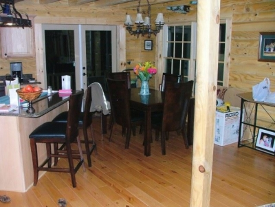 Interior Log Homes Photos (6)