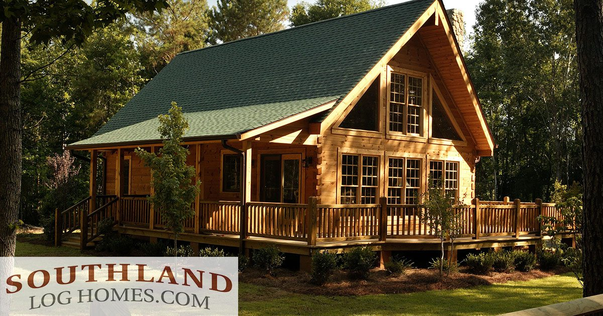 Small log cabin kits log homes southland log homes for Complete kit homes