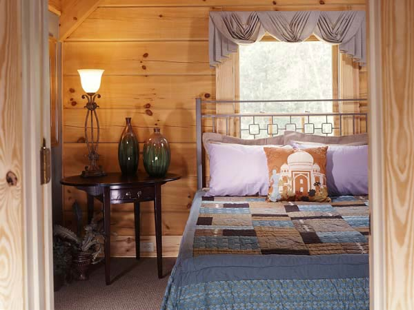Harmony Lane | A Log Home in Georgia Bedroom
