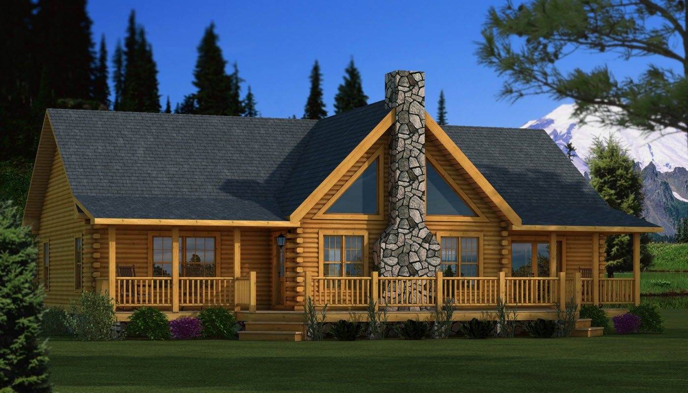Adair - Plans & Information | Southland Log Homes