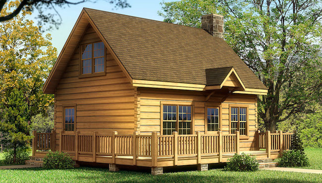 The Alpine I from Southland Log Homes