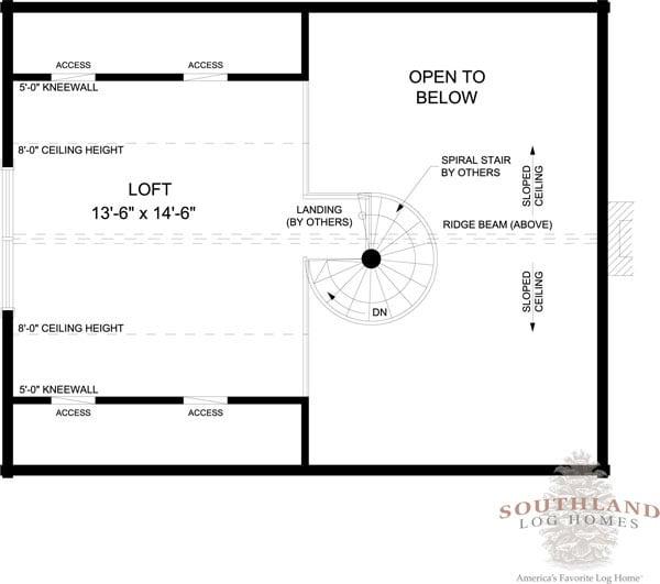 Alpine I - Plans & Information | Southland Log Homes