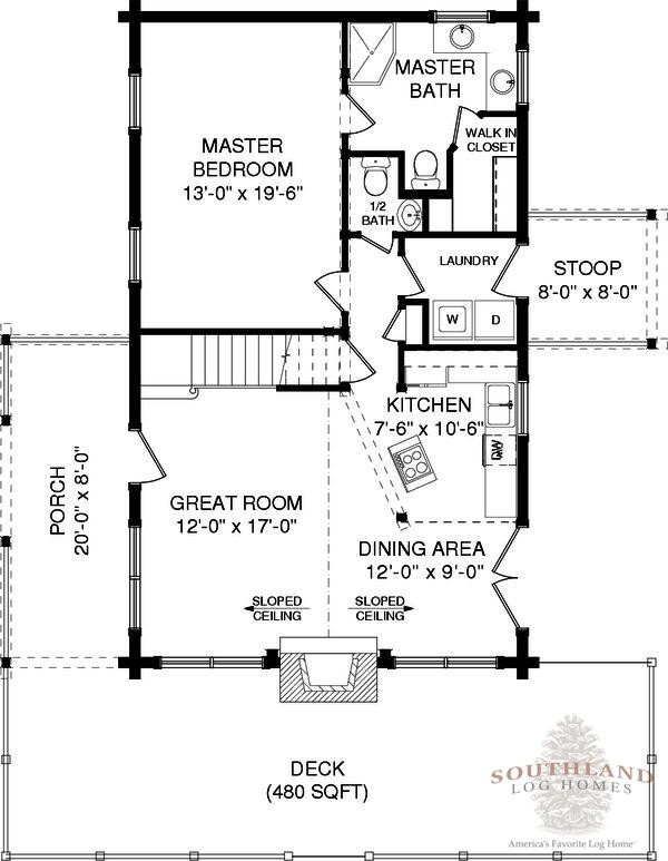 Baldwin plans information southland log homes for Baldwin floor plan