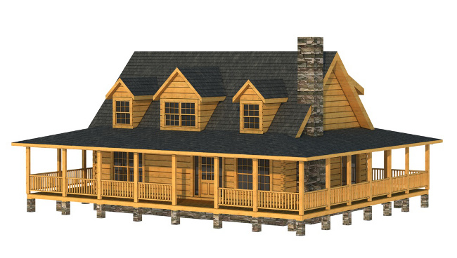 The Barbour from Southland Log Homes