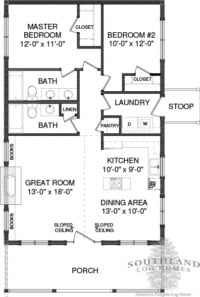 Bungalow 2 – Plans & Information
