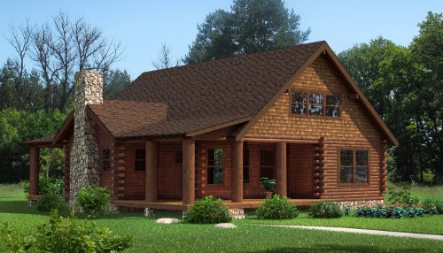 The Chestnut from Southland Log Homes