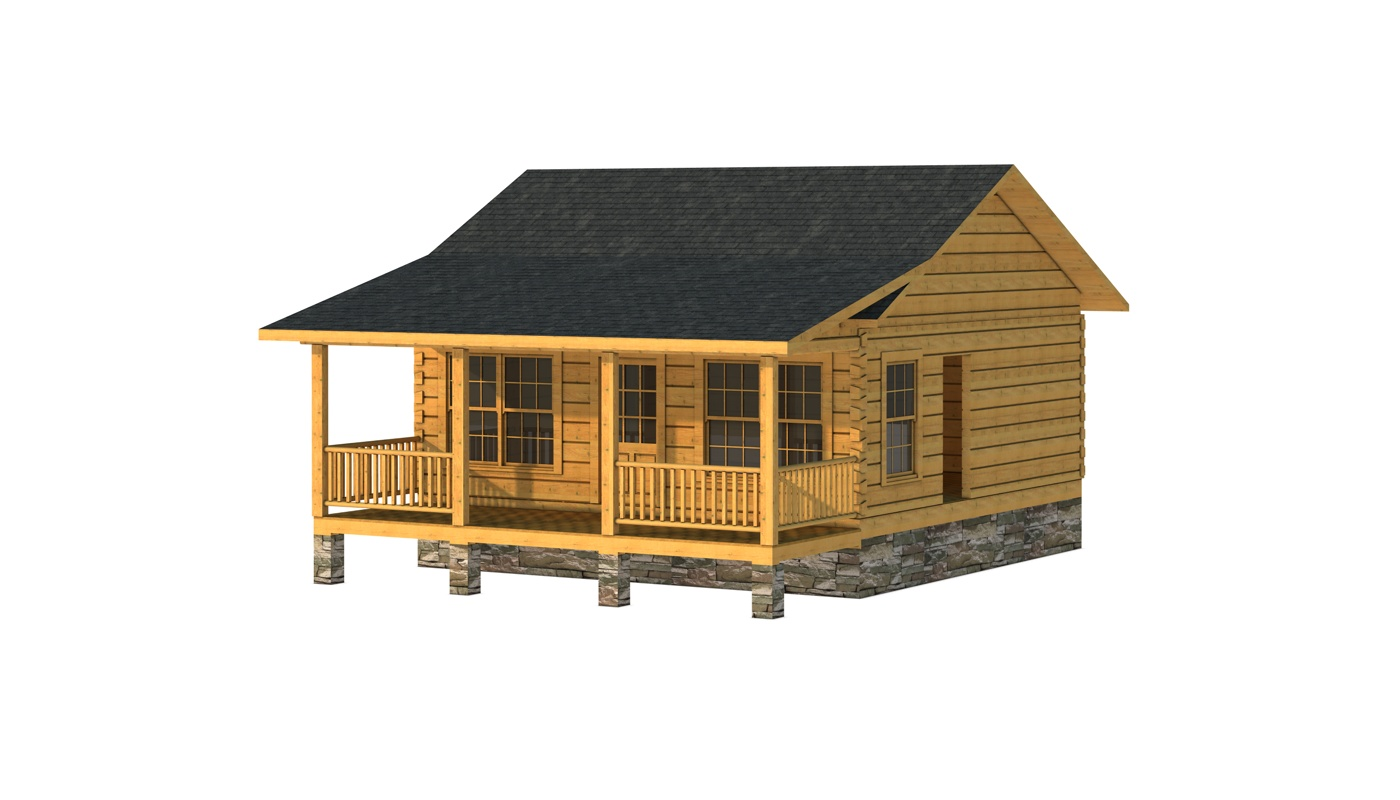 Clark I - Plans & Information | Southland Log Homes