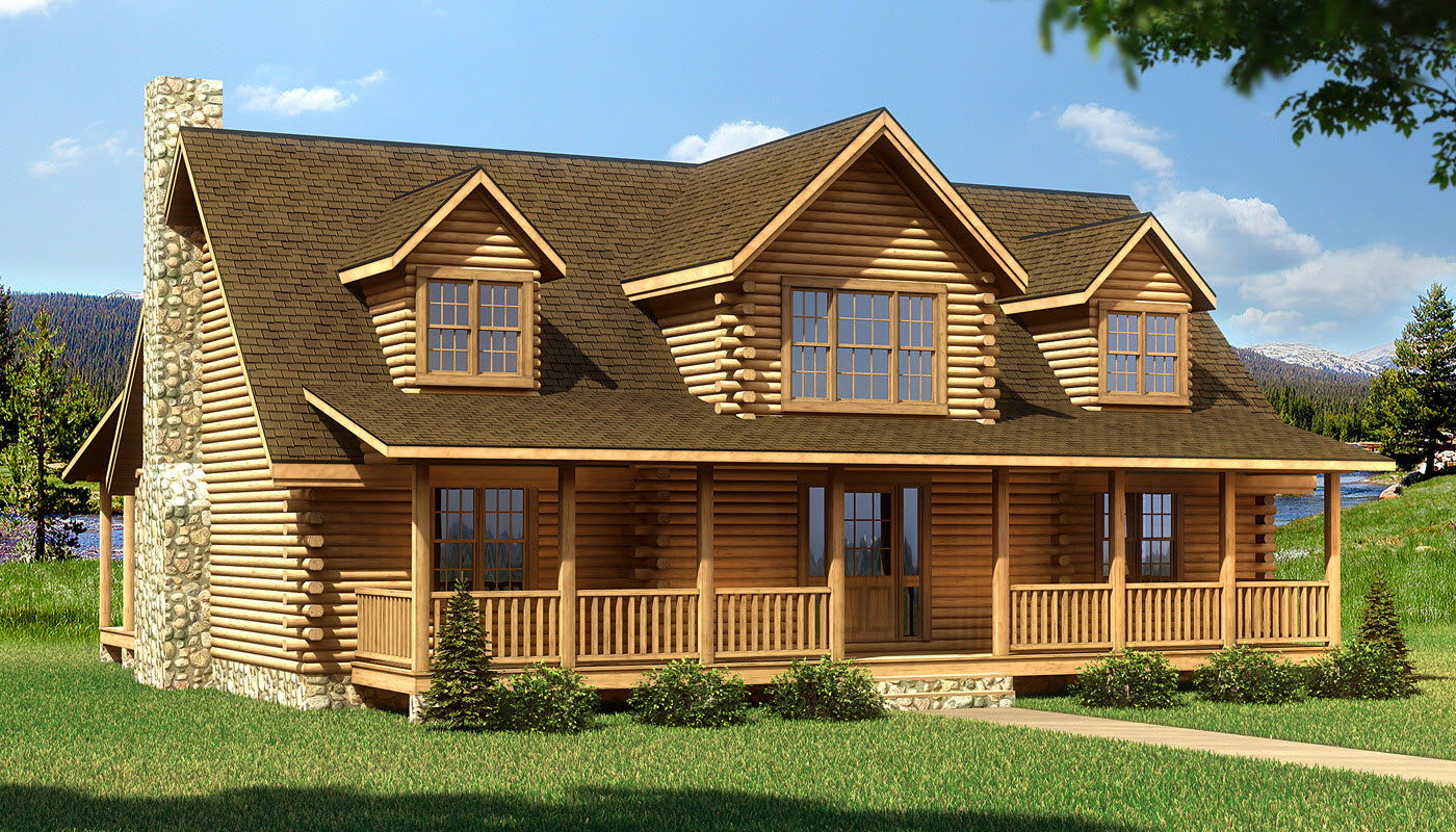 Crestview plans information southland log homes Southland log homes