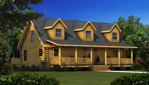 The Danville from Southland Log Homes