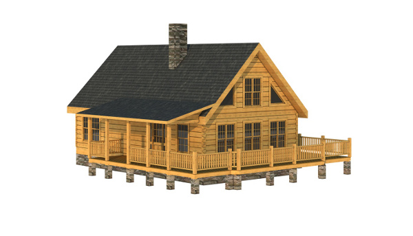 The Darlington from Southland Log Homes