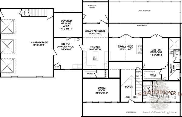Fleming plans information southland log homes for Fleming homes floor plans