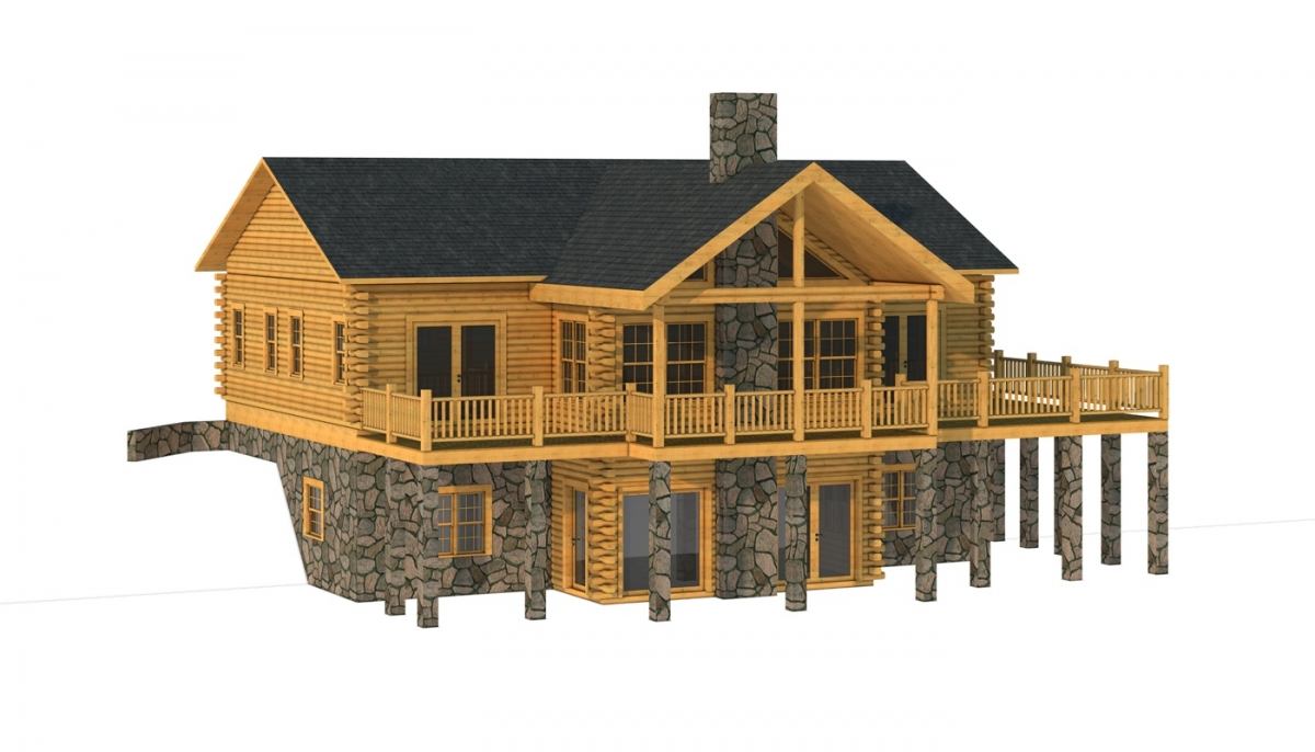 The Hanover from Southland Log Homes