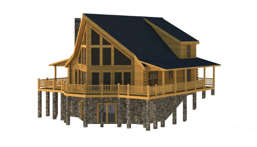 The Henderson from Southland Log Homes
