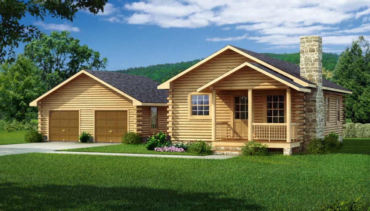 The Lee II From Southland Log Homes