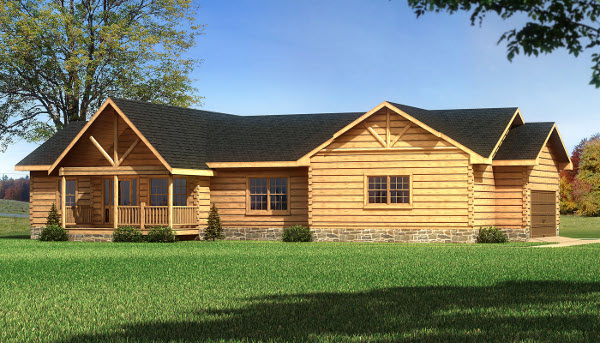 The Madison from Southland Log Homes