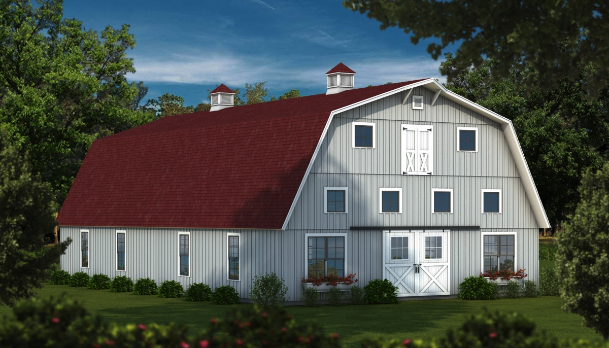 Wood Barn Kits available from Southland Log Homes