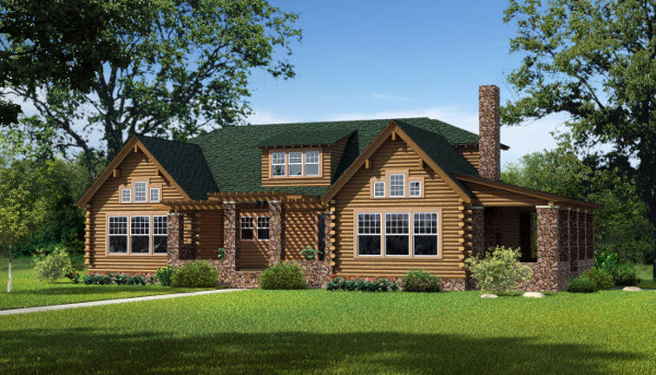 The Morris by Southland Log Homes