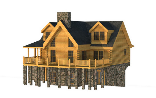 The Maury from Southland Log Homes