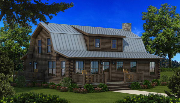 The Richland from Southland Log Homes