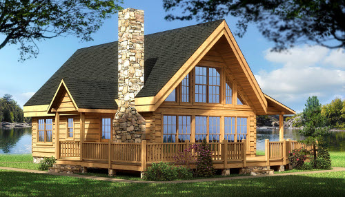 The Rockbridge from Southland Log Homes