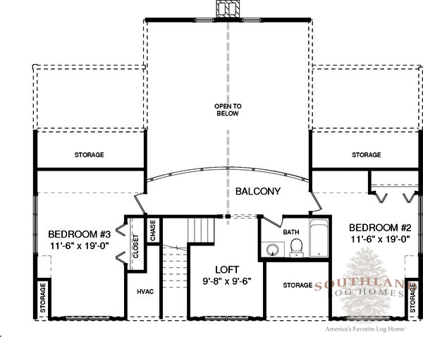 Saint Clair Plans Amp Information Southland Log Homes