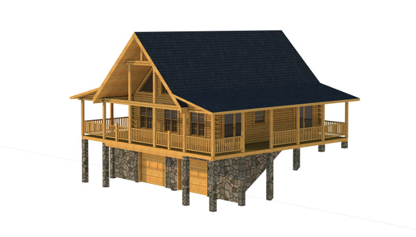 The Stokes from Southland Log Homes