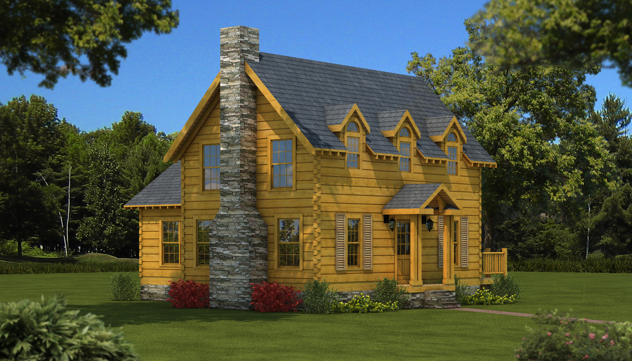 Williamsburg Plans & Information Southland Log Homes