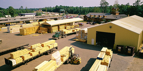 Southland Log Homes Mill Facility