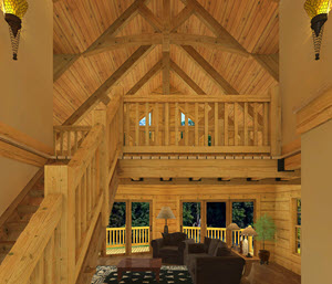 Southland Timber Frame Homes   Entry