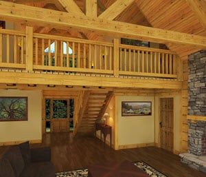 Southland Timber Frame Homes - Great_Room
