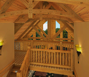 Southland Timber Frame Homes - Loft_1
