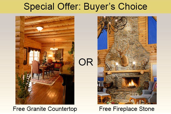 Southland Log Homes - Buyers Choice Offer